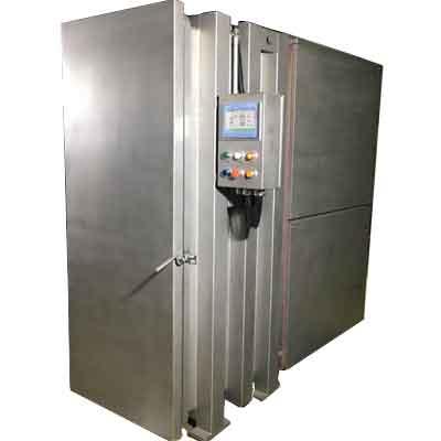 Vacuum cooling machine